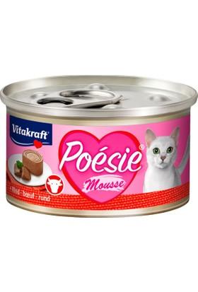 Vitakraft Poésie® Sığır Etli Kedi Konservesi 85gr