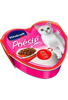 Vitakraft Poésie® Sığır Eti ve Havuçlu 85 gr