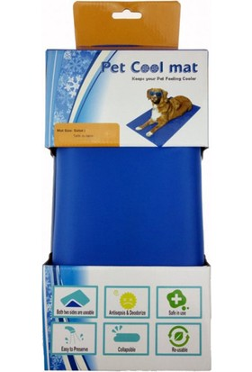 Pet Cool Mat Kedi Köpek Serinletici Yatak S