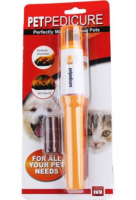 Pet Pedicure Kedi / Köpek İçin Pilli Tırnak Törpüleme Aleti