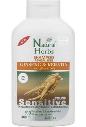 Natural Herbs Ginseng Keratin Şampuan 400 Ml