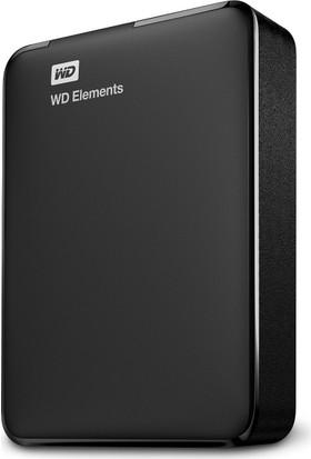 """WD Elements 4TB 2.5"""" USB 3.0 Taşınabilir Disk WDBU6Y0040BBK-WESN"""