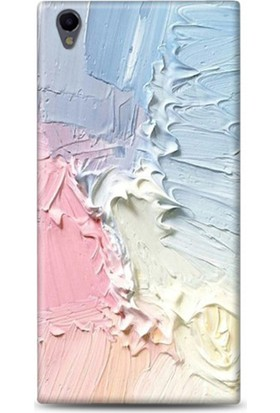 Exclusive Sony Xperia L1 Renkli Sıva Design Kapak
