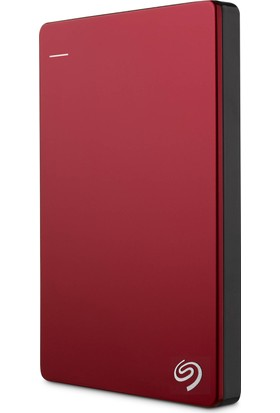"Seagate Backup Plus Slim 1TB 2.5"" USB 3.0 Kırmızı Taşınabilir Disk (STDR1000203)"