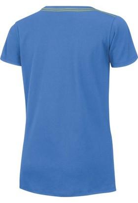 Wilson Script Cotton Tee Kadın T-Shirt Regatta (XS) (WRA75820X)
