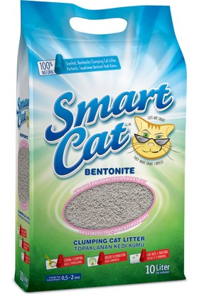 Smart Cat Naturel Bentonit Kedi Kumu 10lt