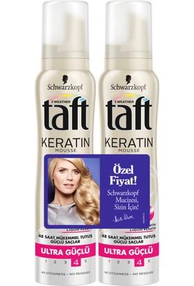 Taft Köpük Keratin 2'Li 150Ml+150Ml