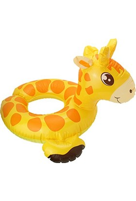 İntex Zürafa Figürlü Çocuk Simidi Havuz Float