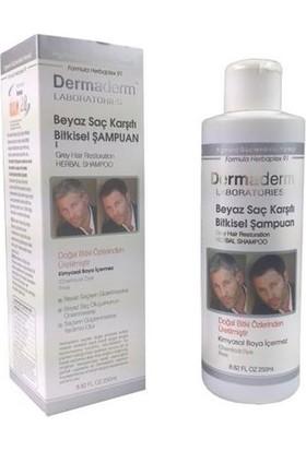 Dermaderm Beyaz Saçlar İçin Bitkisel Şampuan Ve Losyon