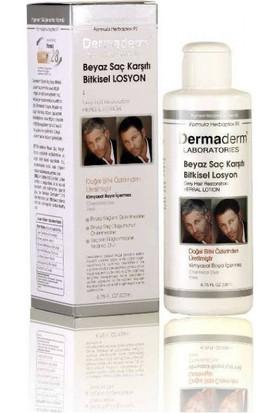 Dermaderm Beyaz Saç Karışıtı Bitkisel Şampuan 250Ml