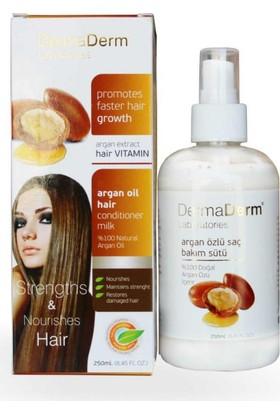 Dermaderm Argan Yağı Özlü Saç Bakım Sütü 250Ml