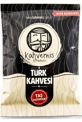 Kahvemis Koyu Kavrulmuş Türk Kahvesi 100 gr Folyo Ambalaj