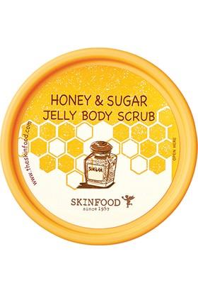 Skinfood Honey & Sugar Jelly Body Scrub, 200gr
