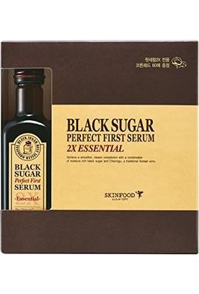 Skinfood Black Sugar Perfect First Serum 2x Eessencial Kırışıklık Önleyici ve Canlandırıcı Serum 120ml