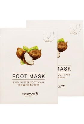 Skinfood Shea Butter Tek Kullanımlık Ayak Bakım Maskesi 16ml(8ml*2)