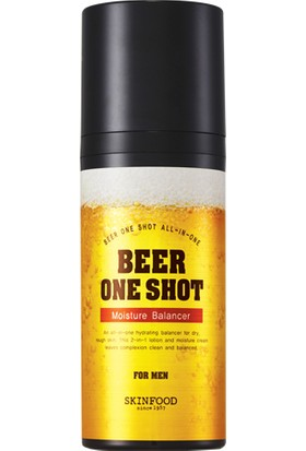Skinfood beer one shot moısture balancer for men, 100ml