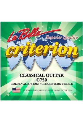 La BellaGitar Aksesuar Klasik Tel Criterion C750