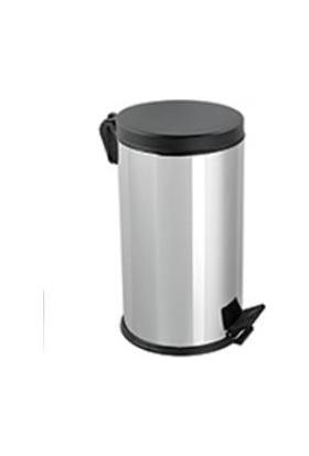 Hiper Plastik Kapaklı Çöp Kovası - 12 Lt