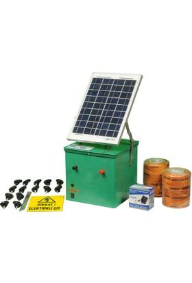 Agriprof Elektrikli Çit Makinası (Güneş Enerjili Standart Paket)