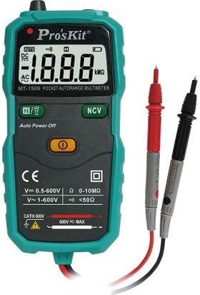 Proskit MT-1509 Cep Tipi AutoRange Dijital Multimetre