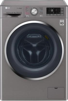 LG F4J8FHP2S A+++ 9 kg Yıkama / 6 kg Kurutma 1400 Devir Çamaşır Makinesi