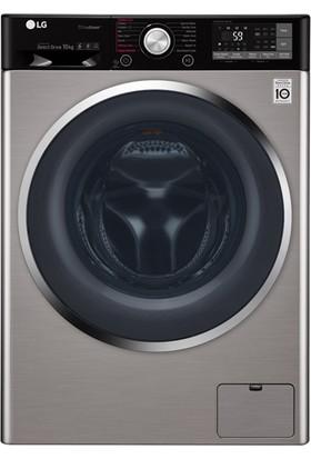LG F4J9JSP2T 10,5 kg. Yıkama 1400 Devir Gri Çamaşır Makinesi