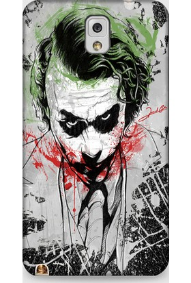 Exclusive Samsung Note 3 Kılıf Grafitti Joker Design Kılıf