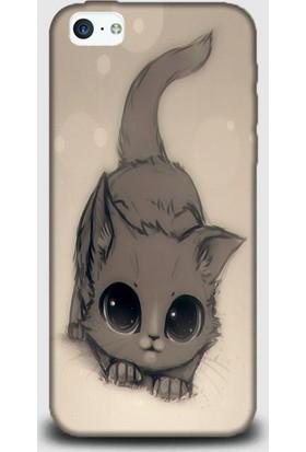 Exclusive iPhone 5C Kılıf | Minik Kedi Design