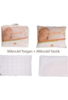 Kidboo Mikrojel Bebek Yorganı ve Yastık Seti