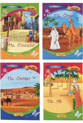 Dinimi Öğreniyorum Serisi :Dört Halife (4 Kitap Büyük Boy) - Sinan Küçük