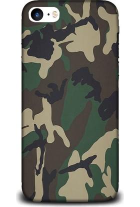 Exclusive iPhone 7 Kamuflaj Askeri Design Kılıf