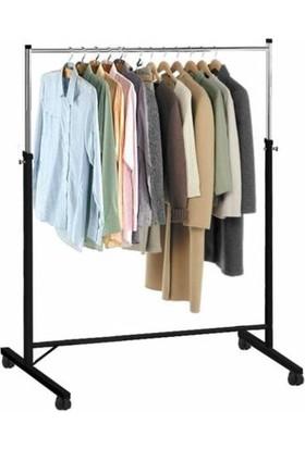 Gürçay Hırdavat Taşınabilir Konfeksiyon Elbise Askısı Yükseklik Ayarlı