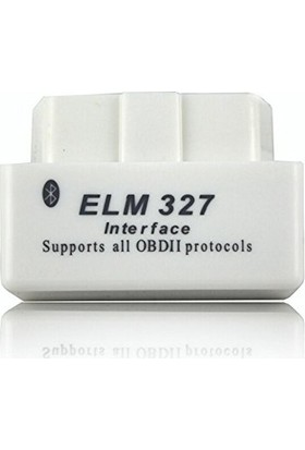 ELM327 Super mini bluetooth V2.1 OBD2 (beyaz)