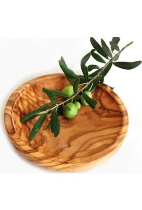 Egedeneve Zeytin Ağacı Sığ Tabak (16 cm)
