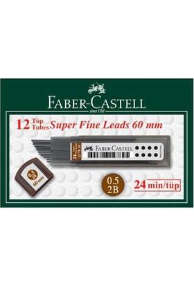 Faber Castell Min Super Fıne 2B 0.5 12 Adet