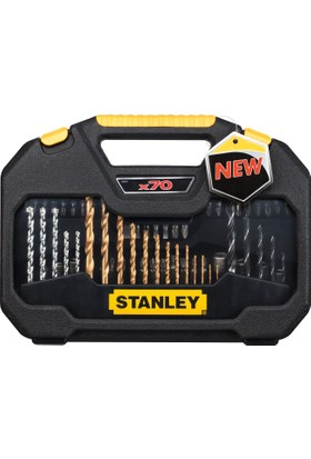 Stanley STA7184 70 Parça Vidalama ve Matkap Uç Seti