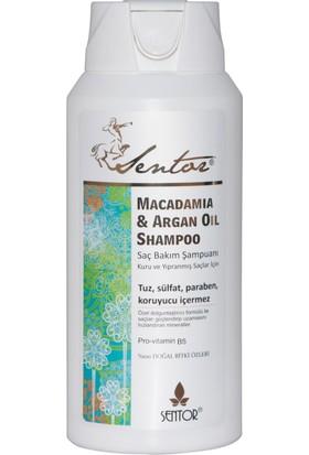 Sentor Sentor Macadamia & Argan Yağlı Saç Bakım Şampuanı 450ml