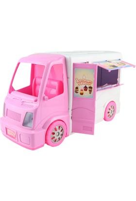 Beren Dondurma Arabası ve Aksesuarları 62 x 24 x 17 cm