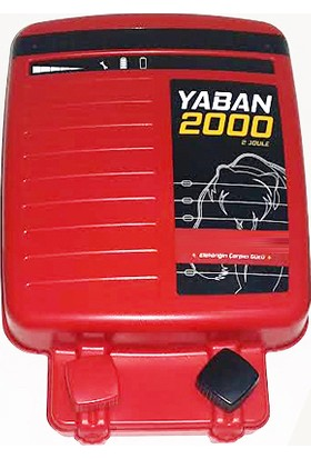 Argenç Yaban 2000 Elektrikli Çit Makinası 10.000 Volt