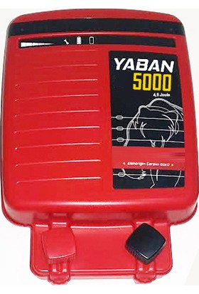 Argenç Yaban 5000 Elektrikli Çit Makinası 13.000 Volt