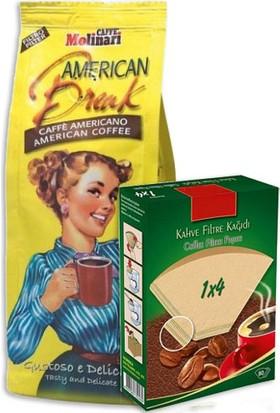 Caffè Molinari 250G Filtre Kahve + 1X4 Filtre Kağıdı
