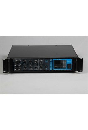 Denox DXV 250U 6 Bölge 250W 100V /70V /4-16 ohm Mixer Amfi