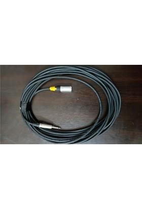 SMR E ST10 - 10 m XLR Erkek/Jak Hazır Enstruman Kablosu