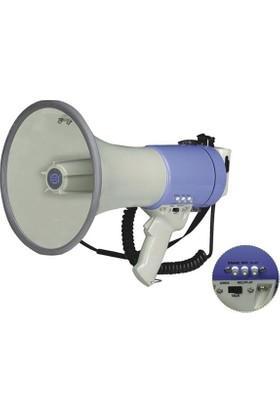 Show ER 66S 25W Sirenli Spiralli Mike Tipi Mikrofonlu Megafon