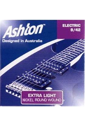 Ashton ES0942 Elektro Gitar Teli 9/42 Extra Light