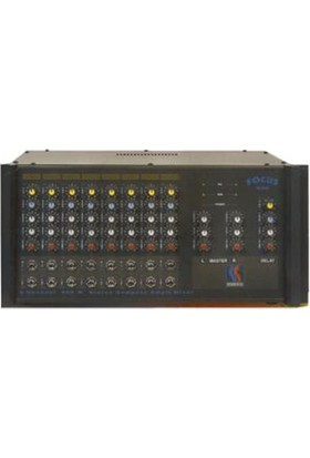 Startech Focus F 8/600 8-Kanal Power Mikser 2x300W/4 ohm