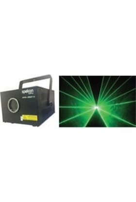 Spekon Great 15 - 1,5W Yeşil Pc Bağlantılı Lazer Efekt Işık