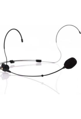 Denox Astron Serisi HS-6 C Siyah Renk Mini XLR Konnektörlü Headset Mikrofon