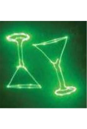 Eclips ILLUSİON Yeşil Gobo Animasyon Lazer 80 Mw