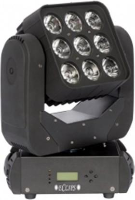 Eclips INCA - 9x12W RGBW Led Moving Head Wash